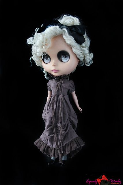 Melancholy Dearest Midnight Orchid by SqueakyMonkey, via Flickr