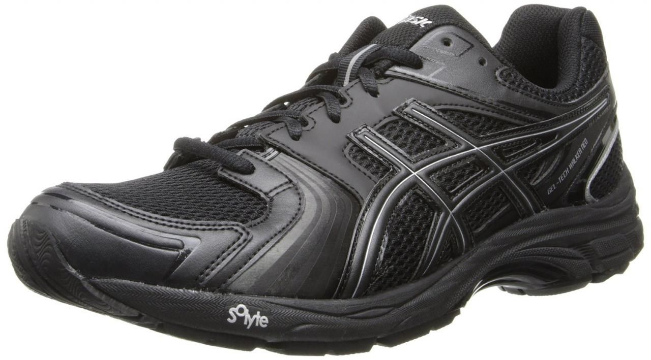 Asics Men's Gel-Tech Walker Neo 4 Walking Shoe Designed with a breathable,  Biomorphic Fit upper, the ASICS GEL-Tech Walker NeoTM 4 shoe includes a  medial- ...