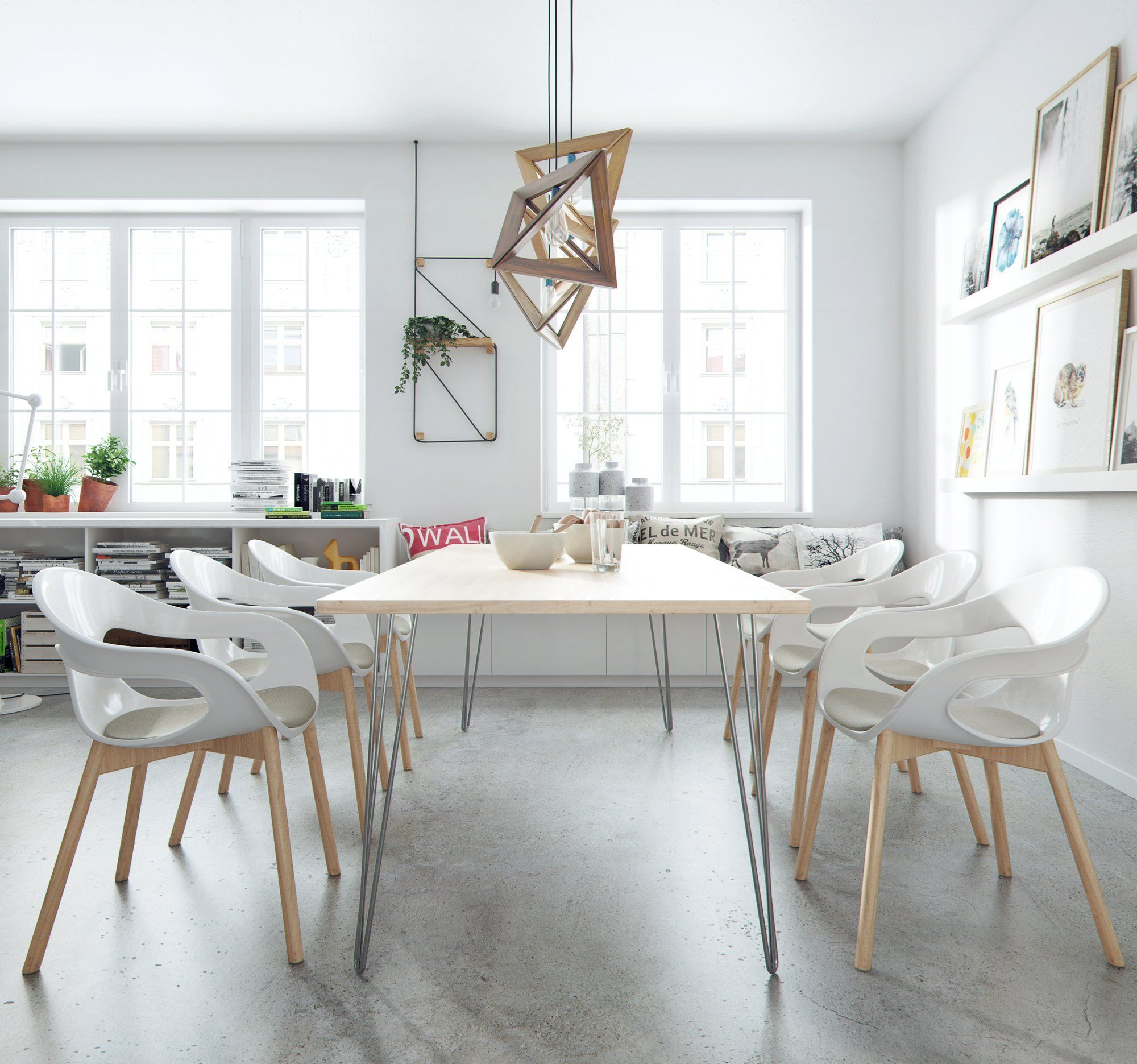 28 Desk Dining Table