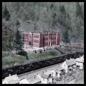 Coalwood High Schoo, built in 1925