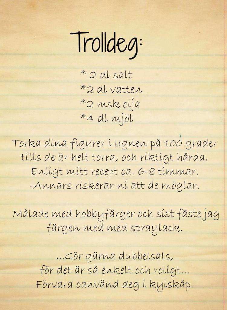 DIY: Trolldeg!