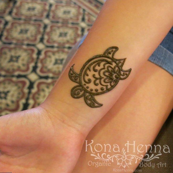 Small Henna Wrist Tattoos Sea Turtle And Lotus Infinity: #hennatattoo #tattoo Tattoo Hand Rose, Tattoos Frauen Arm