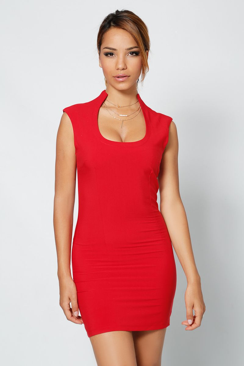 0375a3fdab5 Robe rouge - INFINIE PASSION Robe Rouge Pas Cher