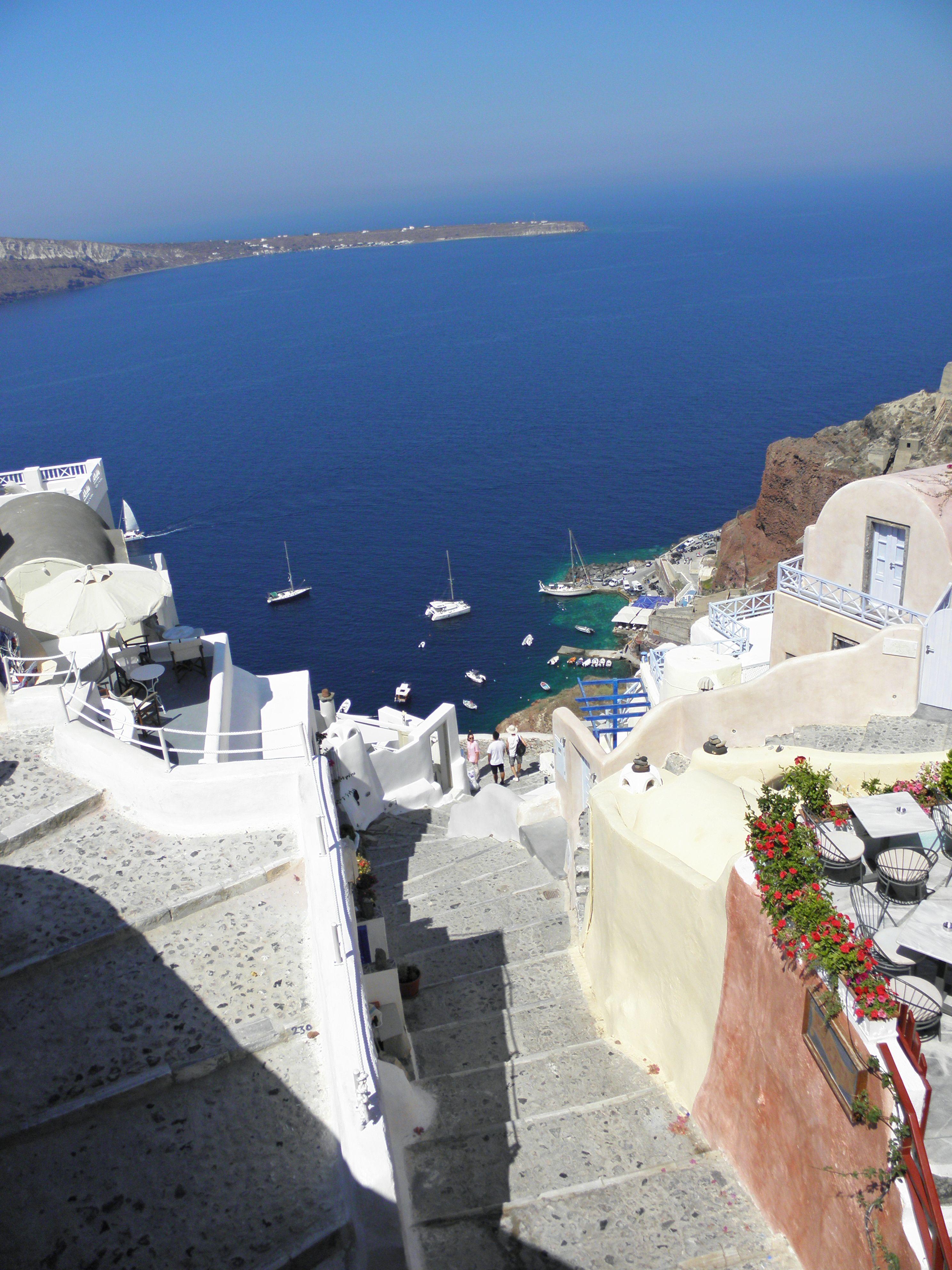 Santorini stairway udududududududududududududududududud luxurytravelboutique