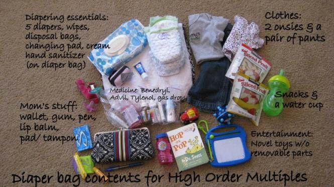The Guest Pads Tampons Diaper Bag Diapering Essentials
