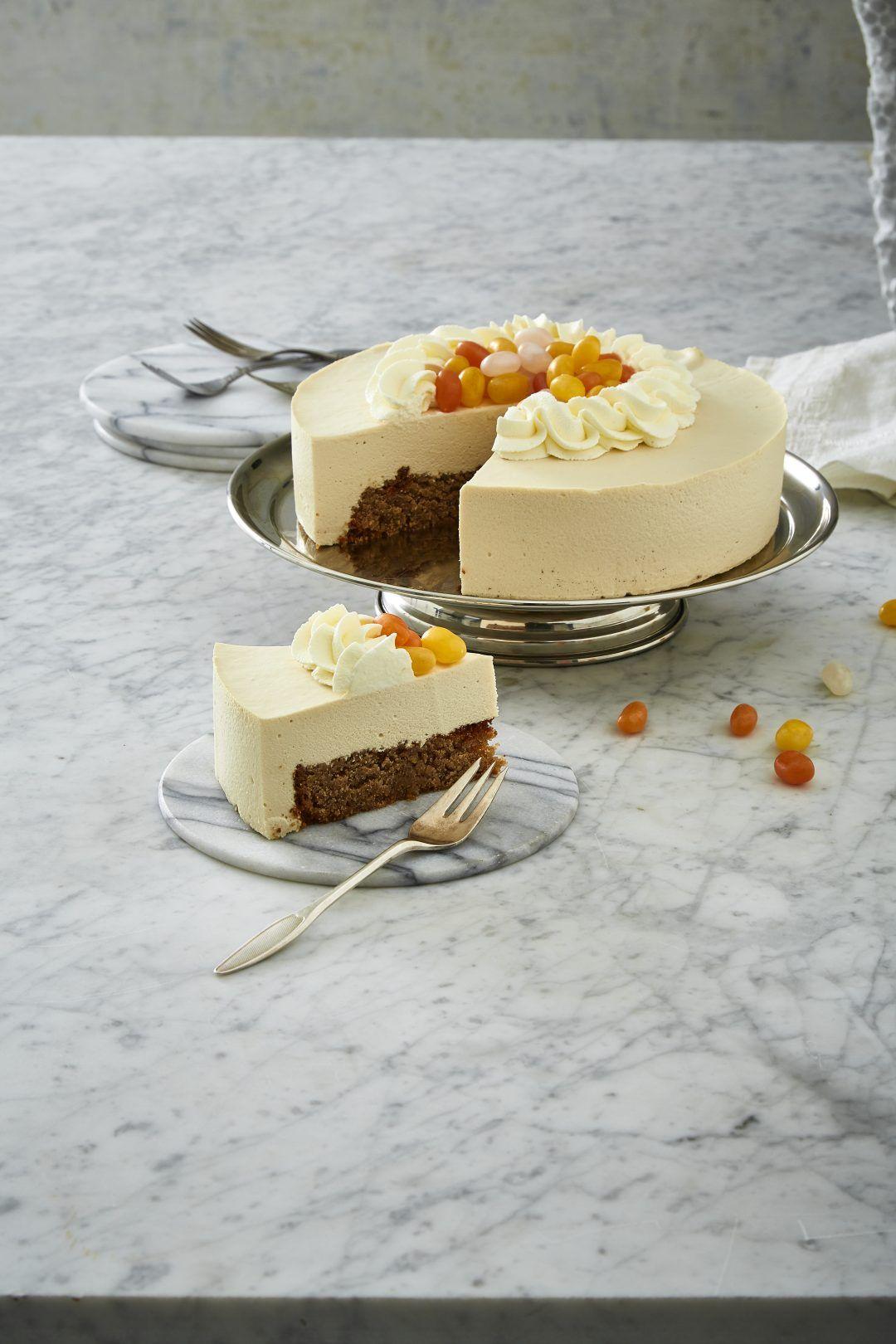 Glutenfri Kaffe Nougat Kage Med Bailey Mousse Med Billeder Food Cakes Dessertopskrifter Kageopskrifter