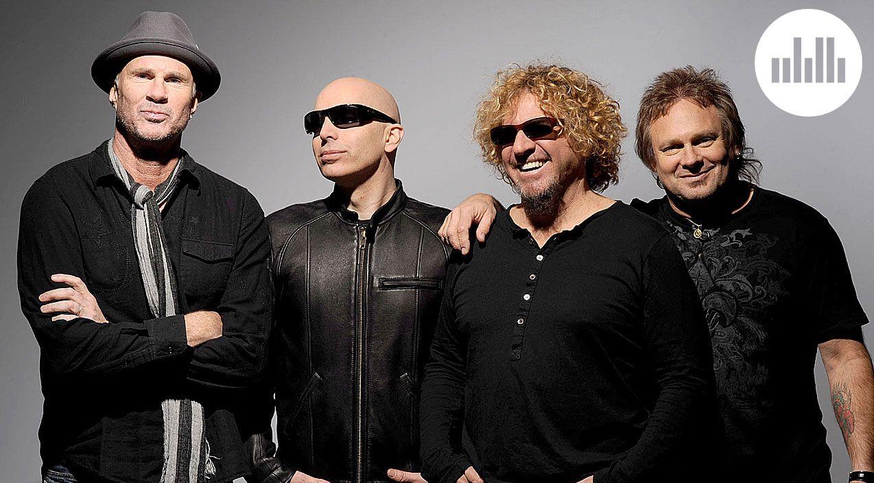 These Rock Legends Create The Next Great Hit Sammy Hagar Former Frontman For Legendary Rock Band Van Halen Is Revere New Music Albums Van Halen Joe Satriani