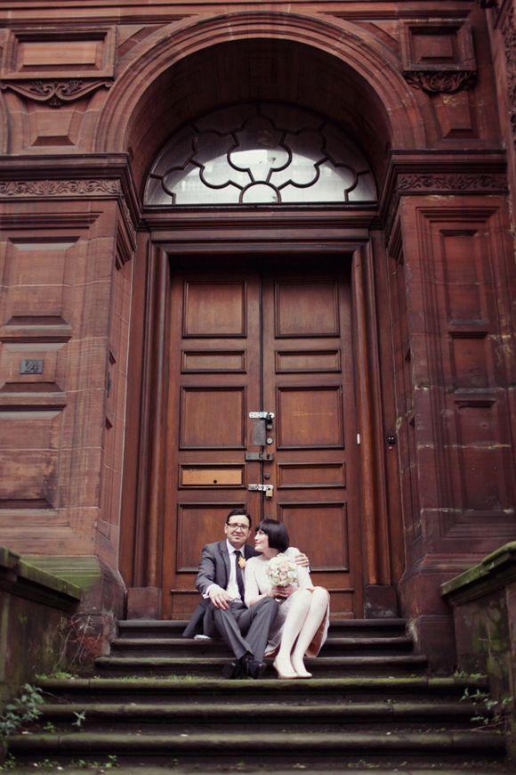 e2749215e White Tights and Peach Pretty ~ A 1960s Inspired Private Members Club  Wedding.