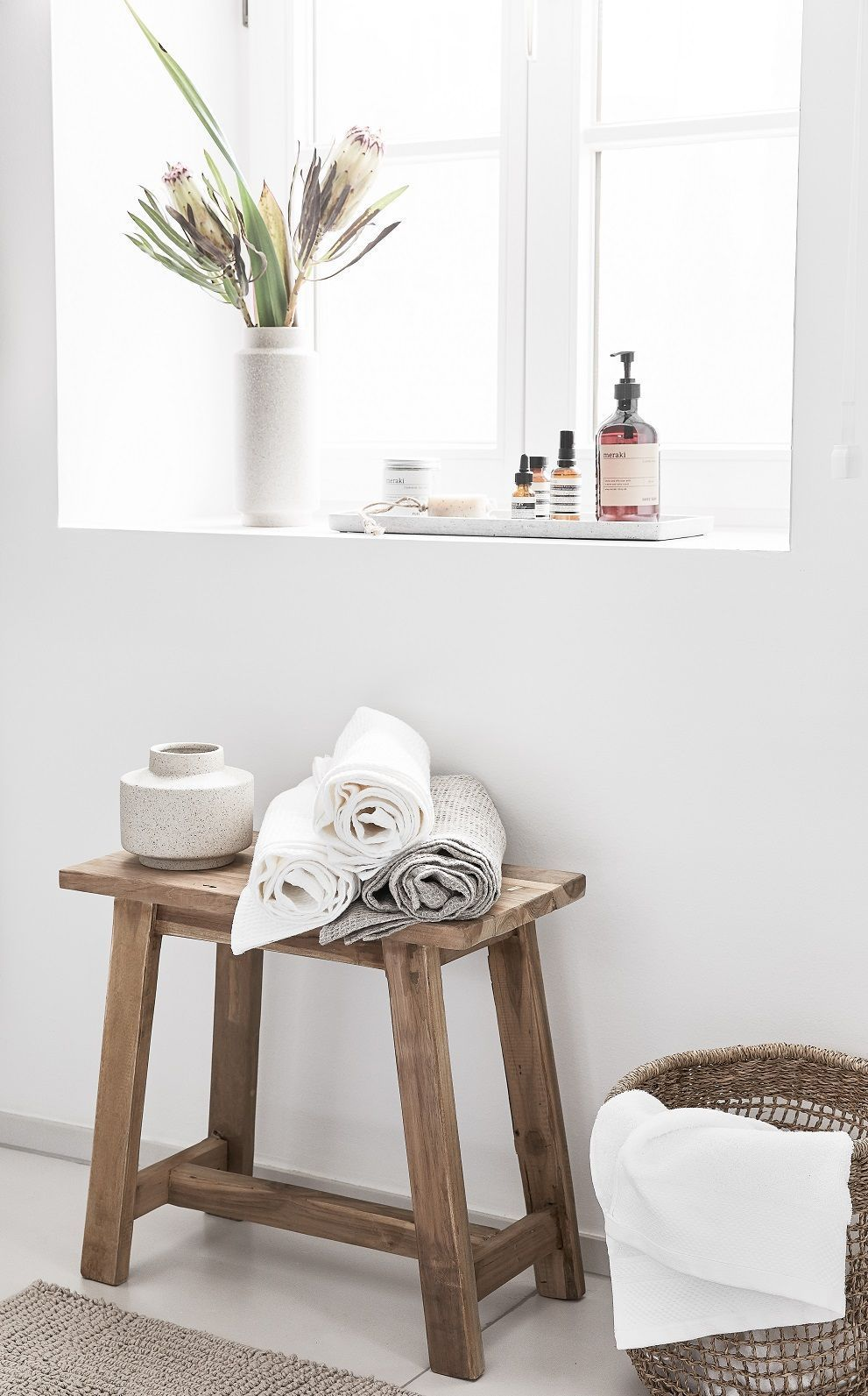 Hocker Lawas Aus Teakholz Mit Bildern Holzhocker Badezimmer Ohne Fenster Hocker Holz