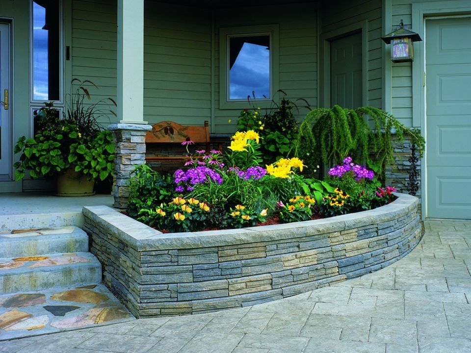 38 Amazing Cinder Block Ideas for Front Yard | Cinder ... on Backyard Cinder Block Wall Ideas id=73865