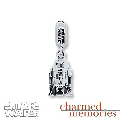 Charmed Memories Star Wars R2-D2/C-3PO Sterling Silver Charms CVLqEpt