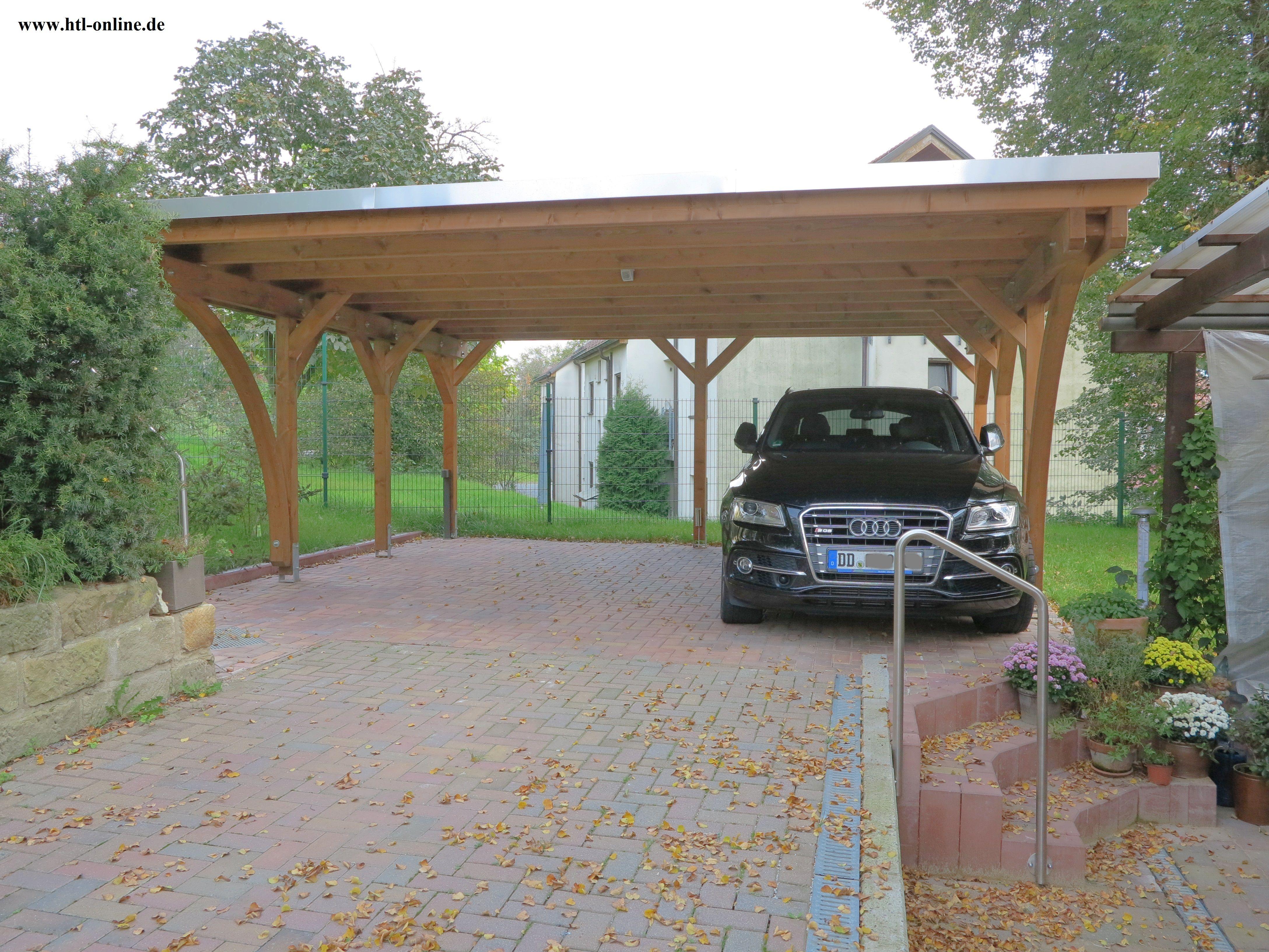 Carport Aus Holz Htl Holztechnik Holz Arbeit Mit Holz Carport Aus Holz Carport Holz Carport Uberdachung Carports
