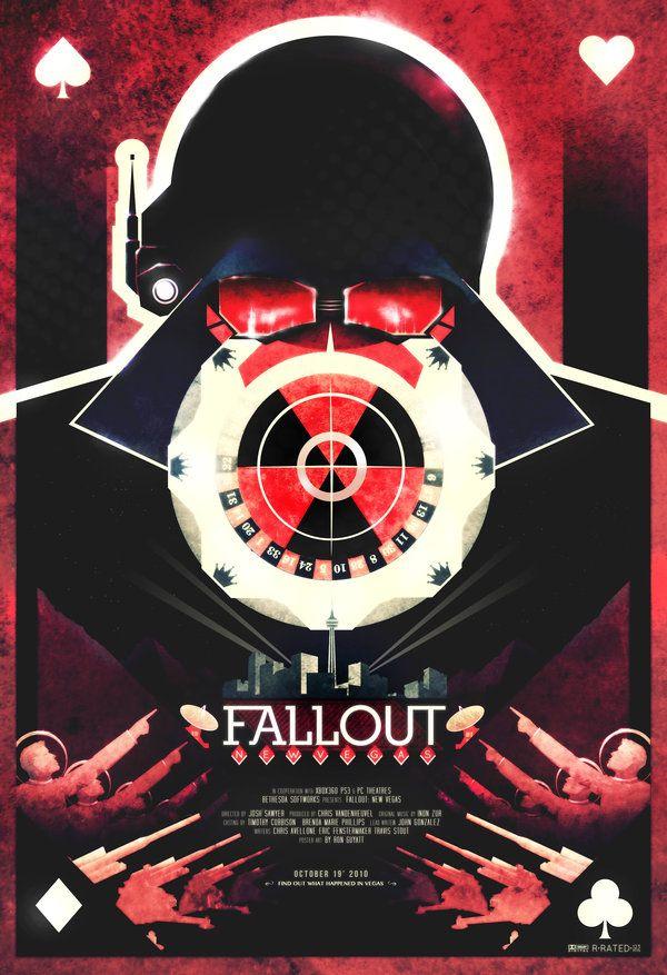 Posters by Ron Guyatt | Geek Mythology | Fallout new vegas