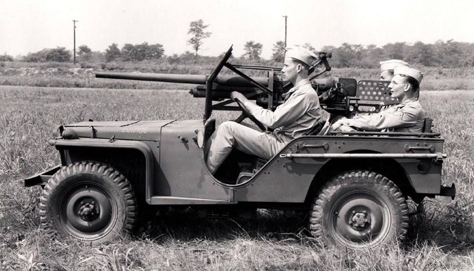 37mm mounted on a Bantam BRC 40, 1941