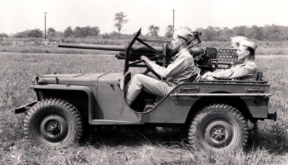 37mm mounted on a Bantam BRC 40, 1941