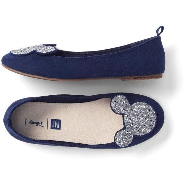 0c143da2 GapKids Disney Mickey Mouse ballet flats ($36) ❤ liked on Polyvore  featuring shoes, flats, ballet shoes flats, disney, ballet pumps, ballerina  shoes and ...