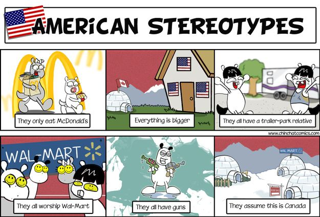 27 Experiences That Define Your Inter Cultural Relationship Stereotypes Funny America Jokes Funny Jokes