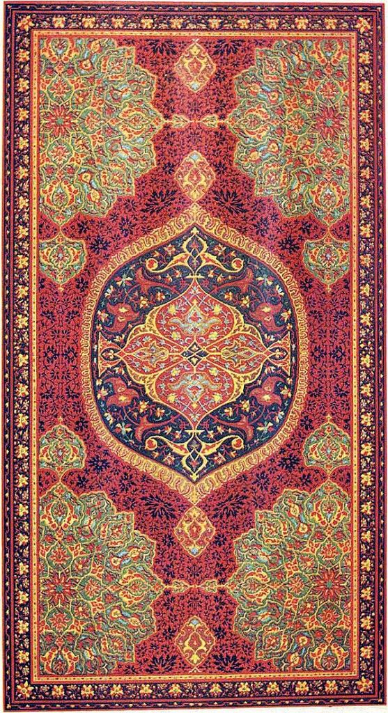 A Large 18th Century Carpet Pictured In Prisse S L Art