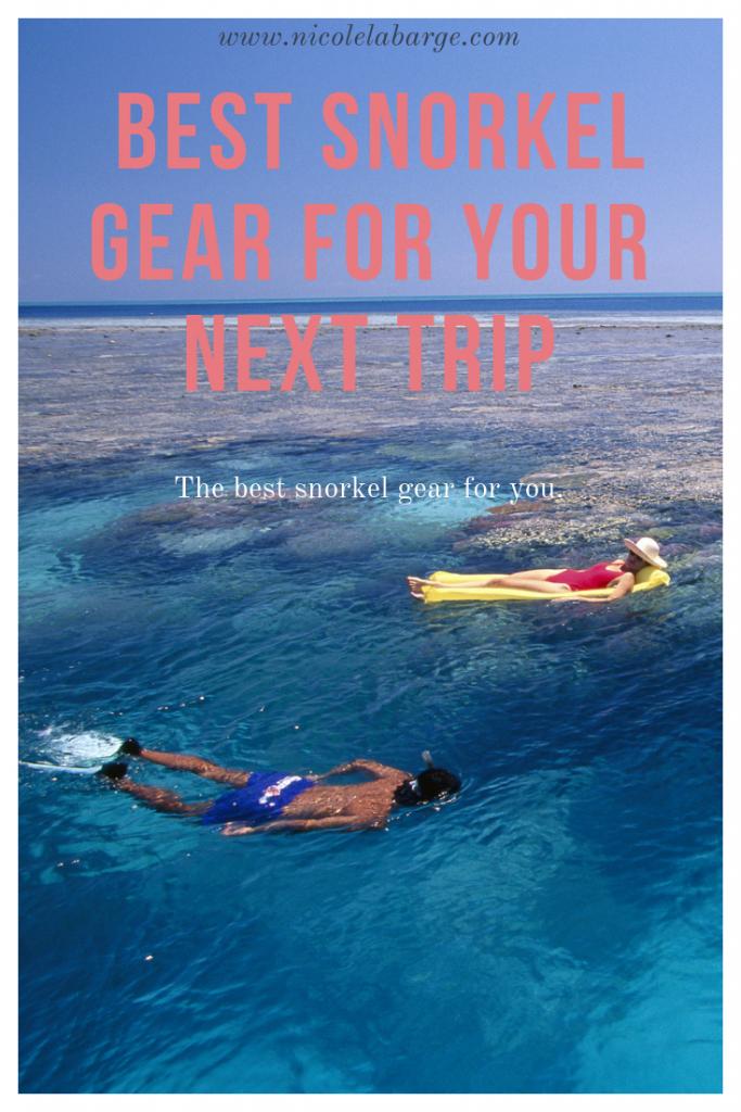 Best Snorkel Gear for Snorkeling in 2021   Travelgal ...