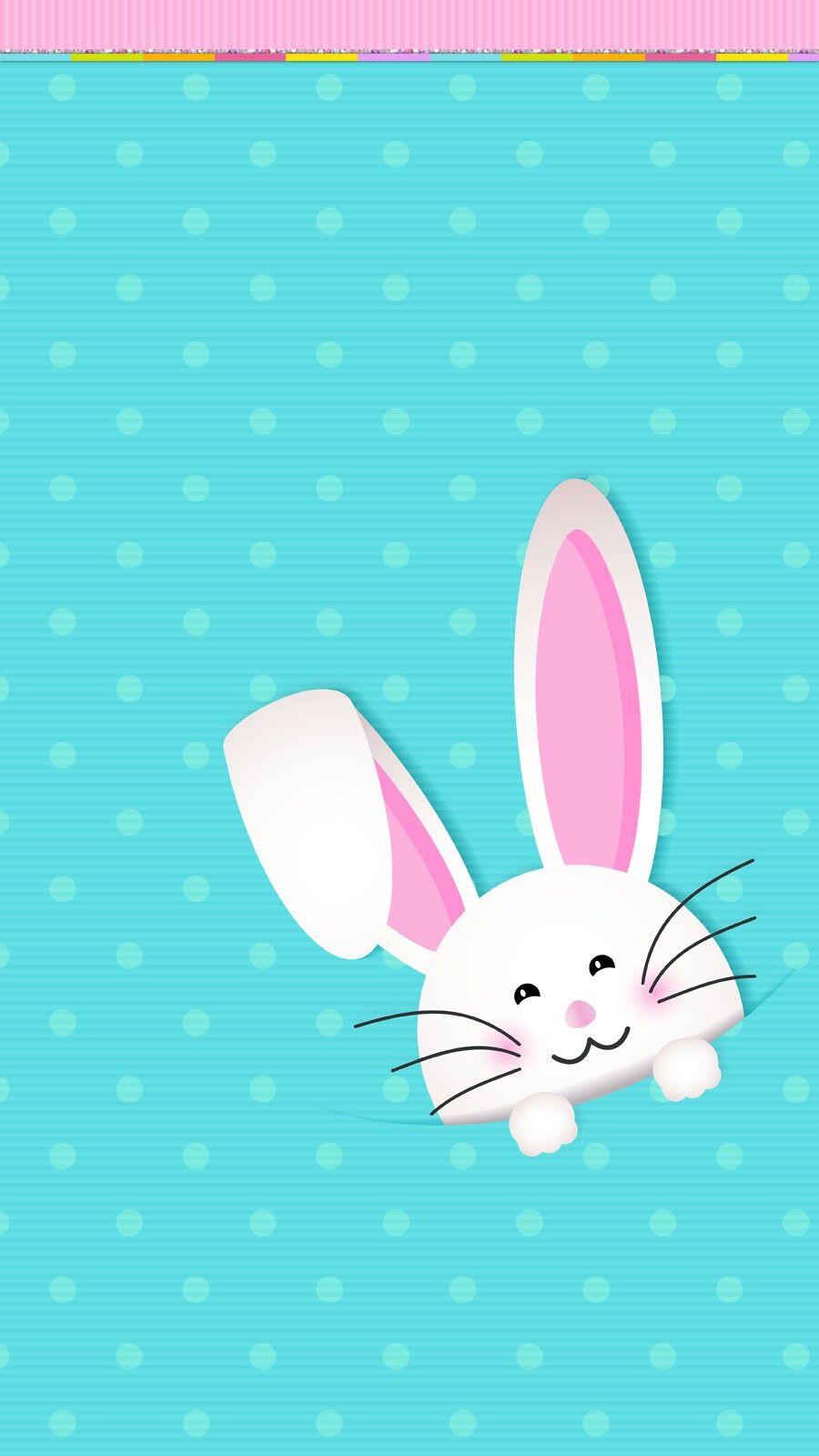 Easter Bunny Wallpaper Iphone Fundo De Pascoa Moldura De Pascoa Desenhos De Pascoa
