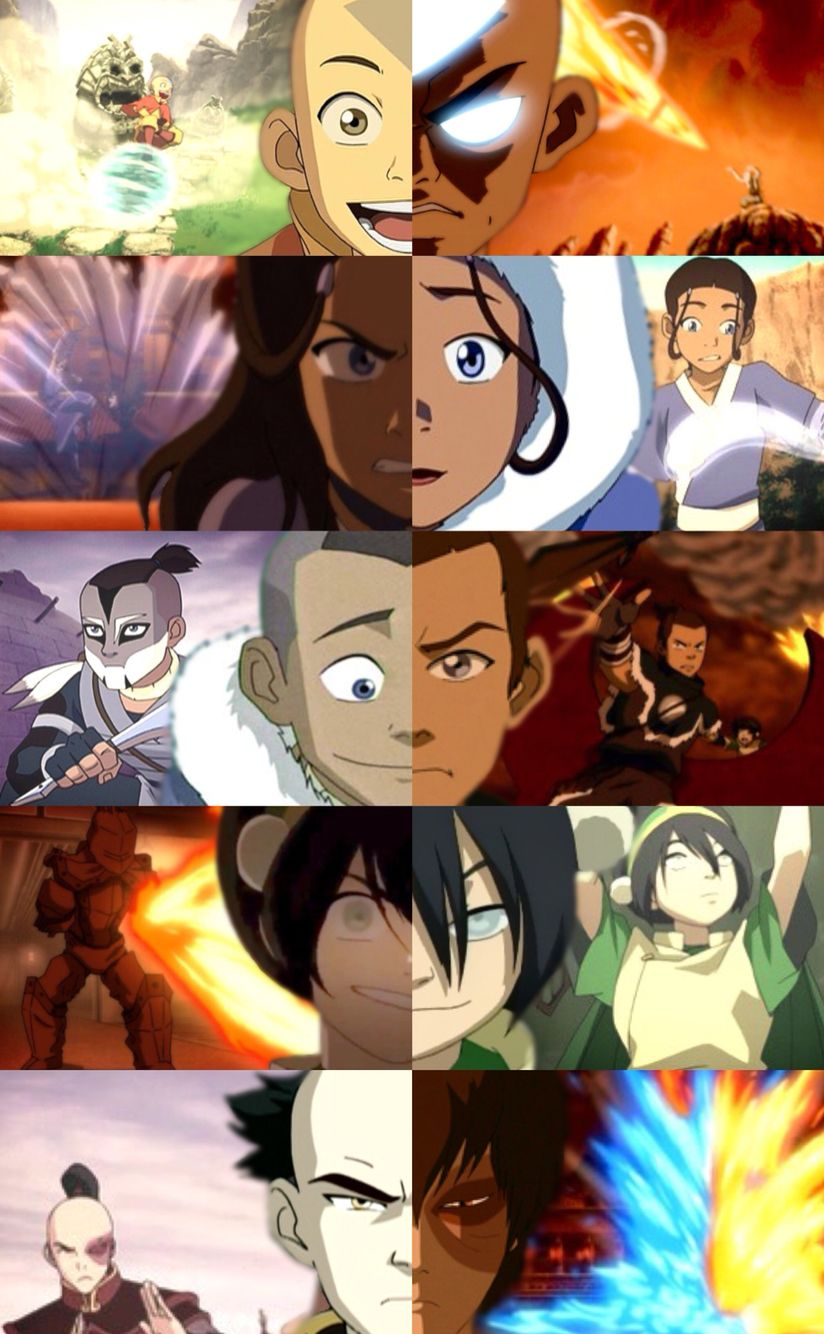 An ATLA edit I made <- whoever made this you did a good job.