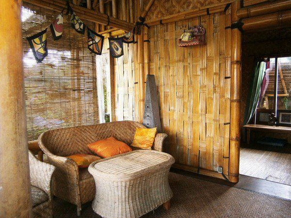 Bamboo House Design Ideas Eco Friendly Building Materials Bamboo House Design Bamboo House Modern Architecture Interior