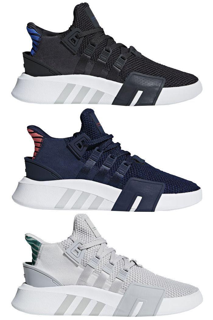 new concept 56c22 6b8e4 adidas EQT Bask ADV Navy  Fashion  shoes  Pinterest  Zapatillas adidas,  Calzado adidas and Zapato tenis
