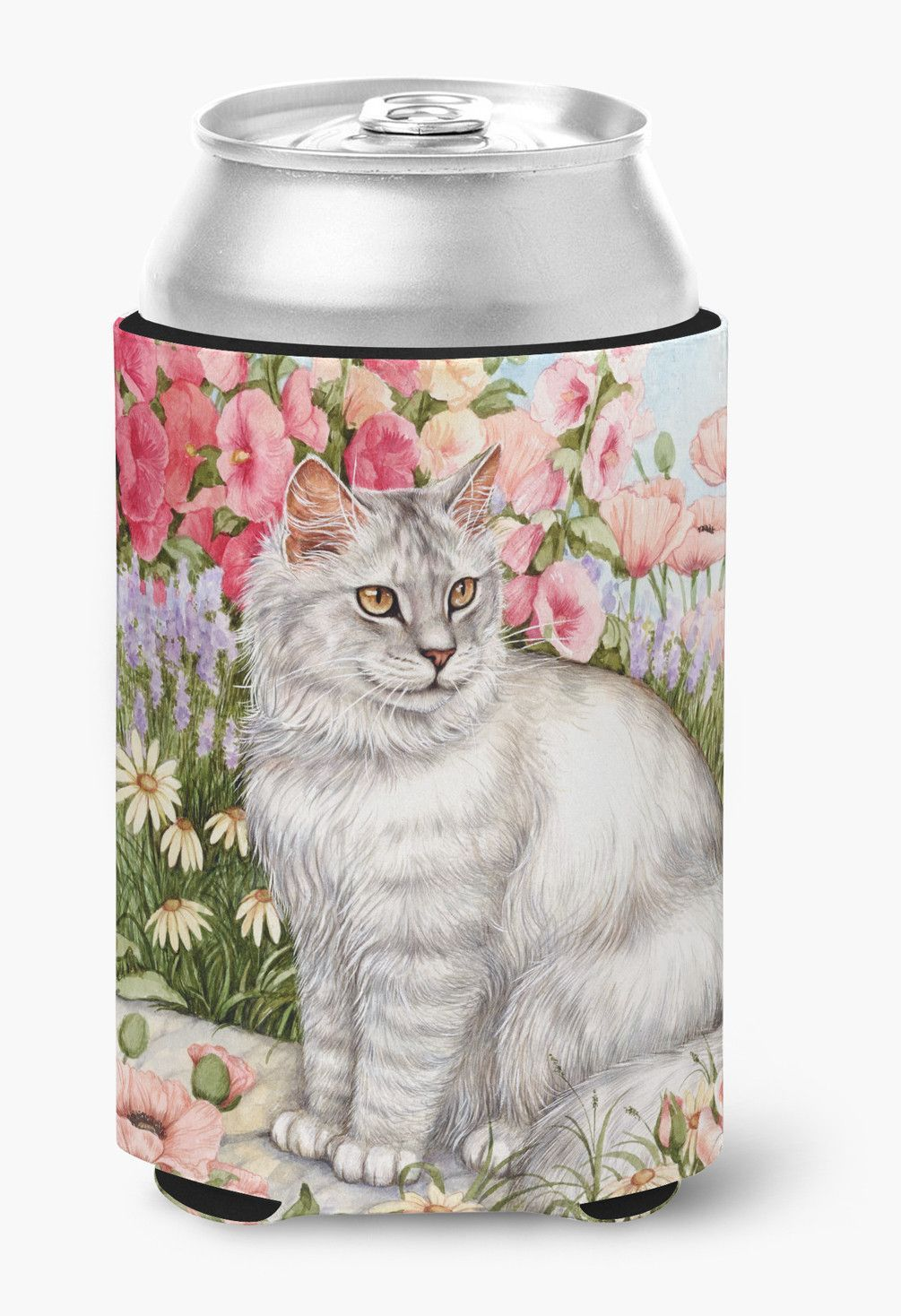 Cats Just Looking in the fish bowl Can or Bottle Hugger CDCO0244CC