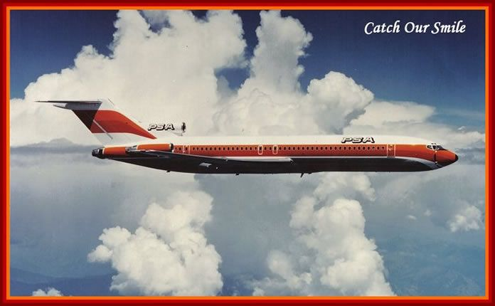 PSA Airlines   HISTORY FACTS AND PICTURES OF PSA AIRLINES