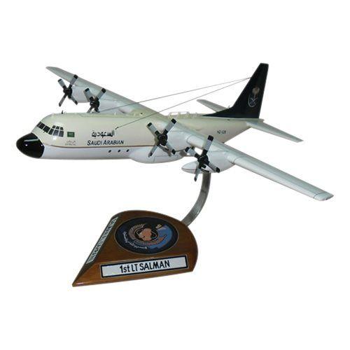 Royal Saudi Air Force C-130H Hercules Custom Aircraft Model
