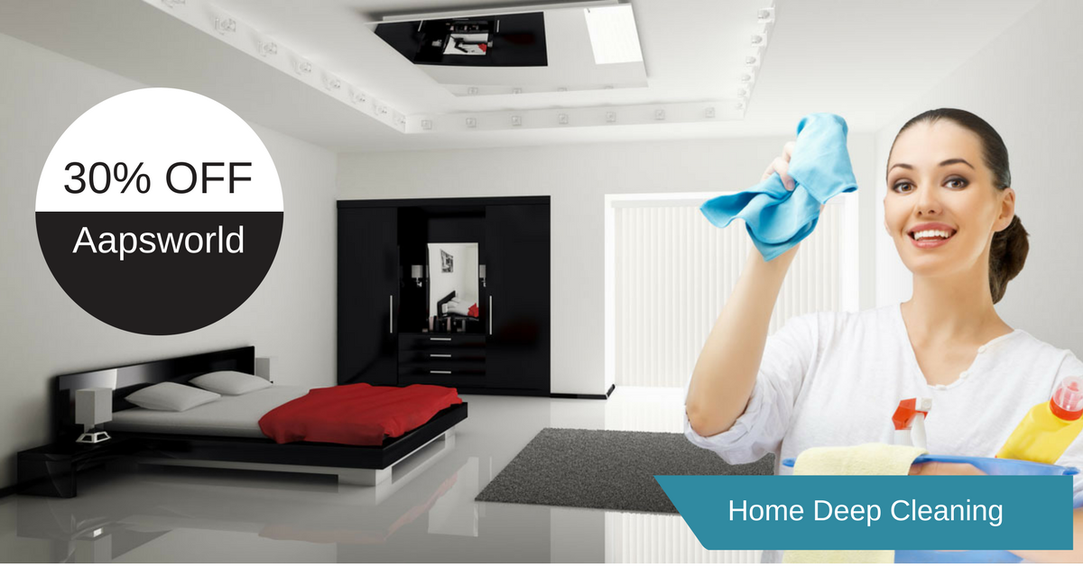 Aapsworld Home deep Cleaning Services At very Cheaper