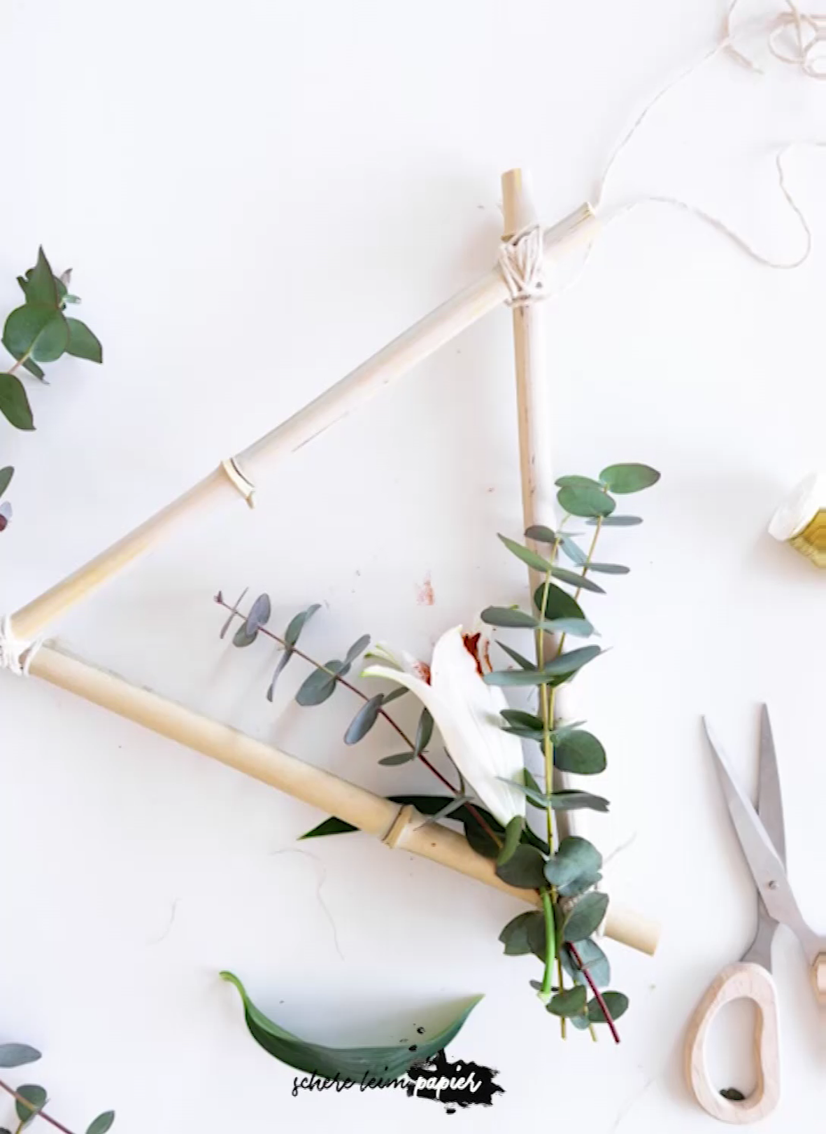 Photo of DIY DIY bamboo spring decoration