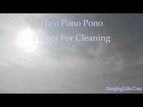 Ho'oponopono Prayer For Cleaning A Gift From Morrnah Simeona — SurgingLife.Com