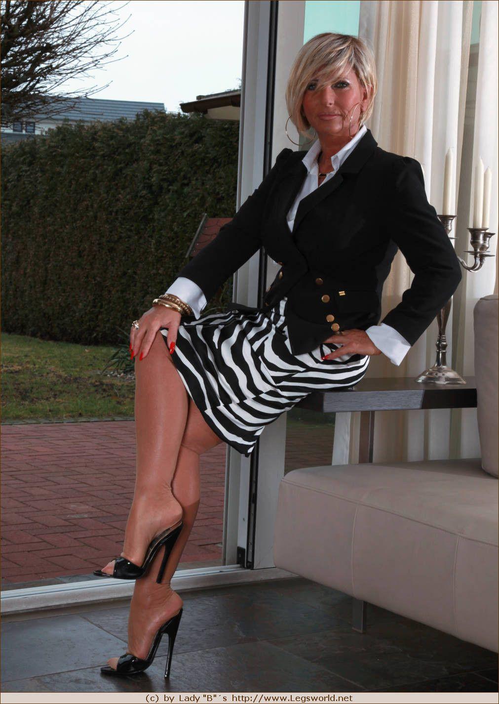 Mature lady boss