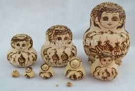 pyrography christmas decorations - Google Search