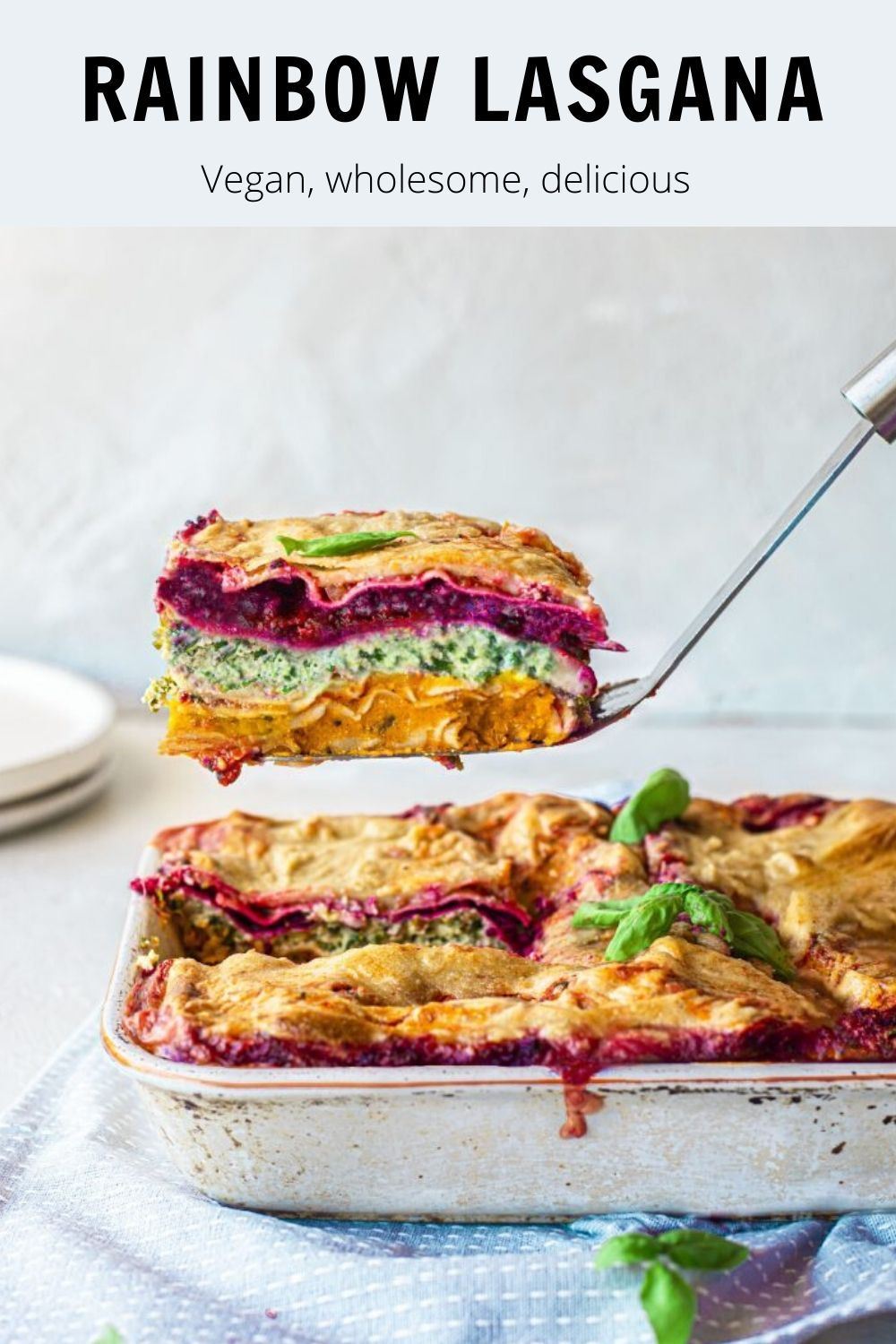 Vegan comfort food packed with veggies, is wholesome and healthy. The colours makes it the perfect dinner centrepiece too!