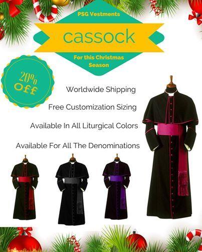 Cassock bestoffer madetomeasure flat 20 off all cassock robe the choir cassock robes is a variety of dress used by the choir people of roman catholic eastern orthodox anglican methodist lutheran and reformed fandeluxe Images