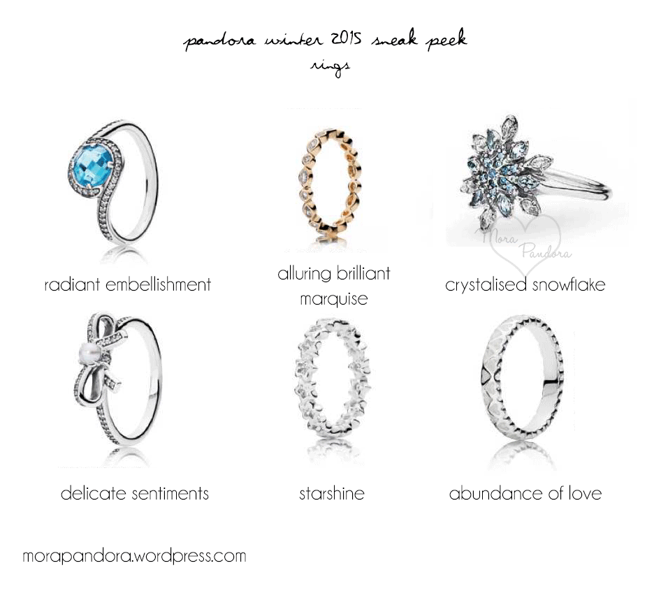 pandora winter christmas 2015