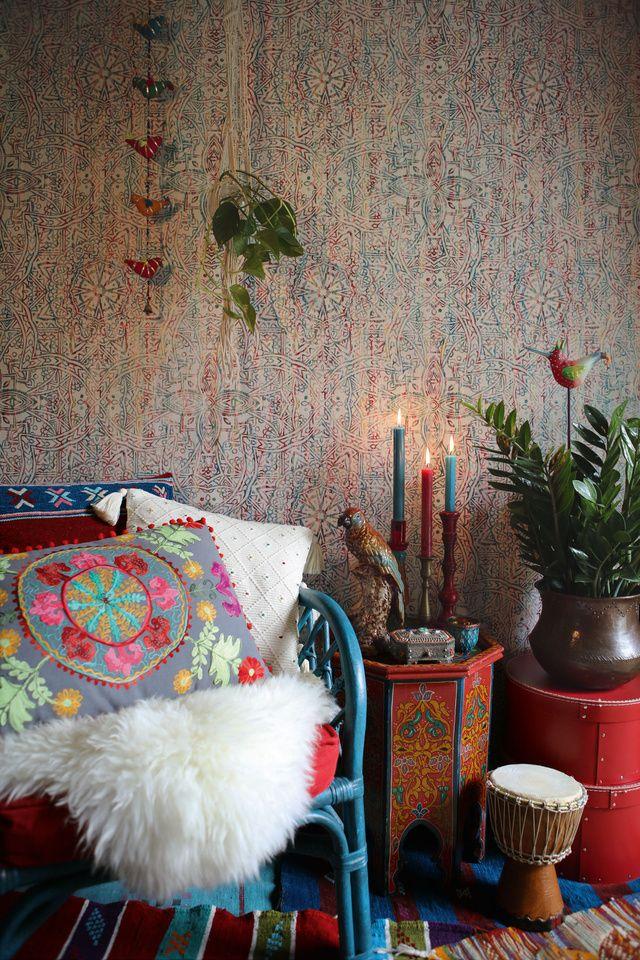 Tapeta 364611 A.S. Création Boho Love Wallpaper, Boho