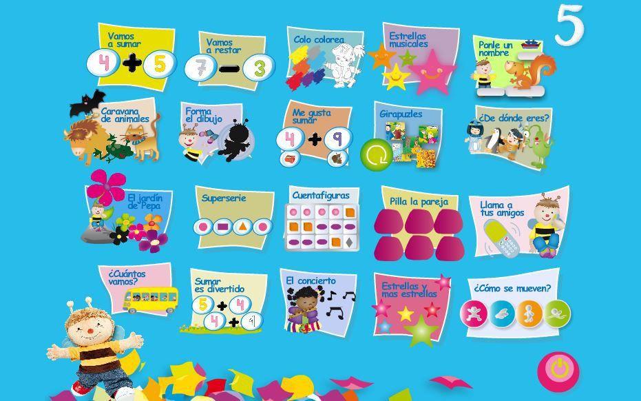 20 Juegos Digitales Interactivos Para Educacion Infantil 5 Anos