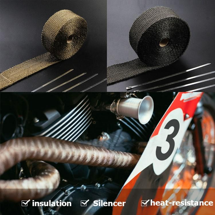Heat Exhaust Thermo Turbo Wrap Tape 2
