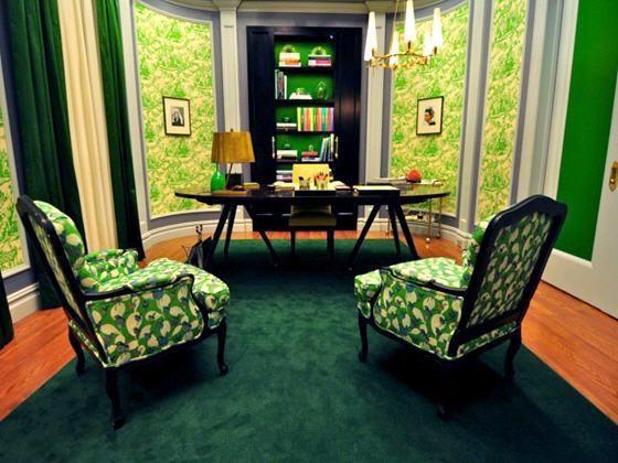 office crush blair waldorfs office - Blair Waldorfzimmer