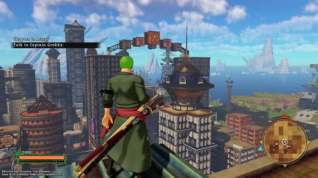 Fun Fact The Mini Map Is Blurry When You Play As Zoro In World Seeker Also Note To Play As Zoro You Need To