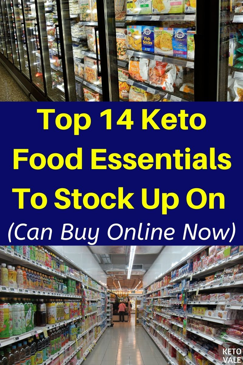 how to stock up on keto diet