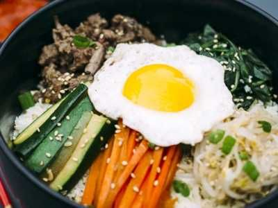 Bibimbap - Disini ada beragam cara membuat video bumbu resep bibimbap halal ala korea tanpa