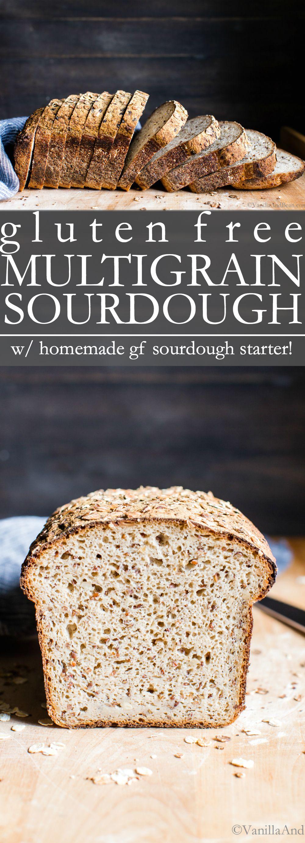 Seeded Multigrain Gluten Free Sourdough Bread Gluten Free Sourdough Bread Gluten Free Sourdough Gluten Free Bread Machine Recipe