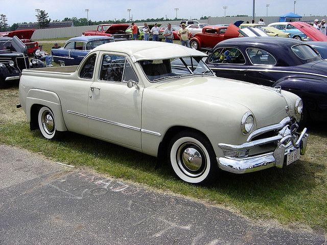 1950 Ford Ute From Australia Pickup Trucks Classic Cars