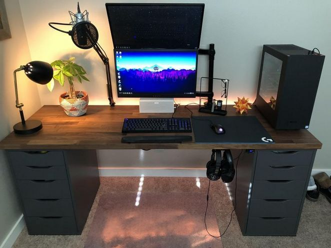38+ What the Experts Are Not Saying About Gaming Desk and How It Affects You - beterhome #gamingdesk