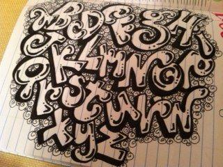 Handwriting On Pinterest Bubble Letters Graffiti Font And Graffiti