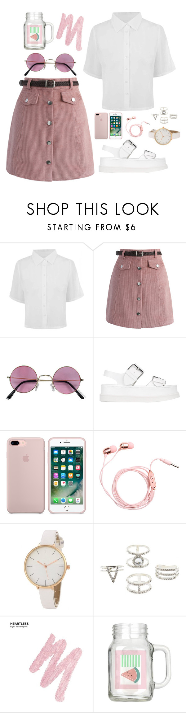 """""""Untitled #194"""" by kateshantika ❤ liked on Polyvore featuring Chicwish, STELLA McCARTNEY, Charlotte Russe and Urban Decay"""